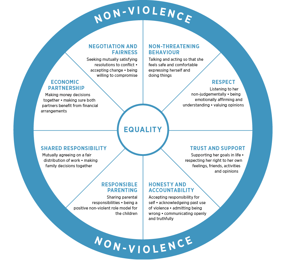 Duluth model of equality