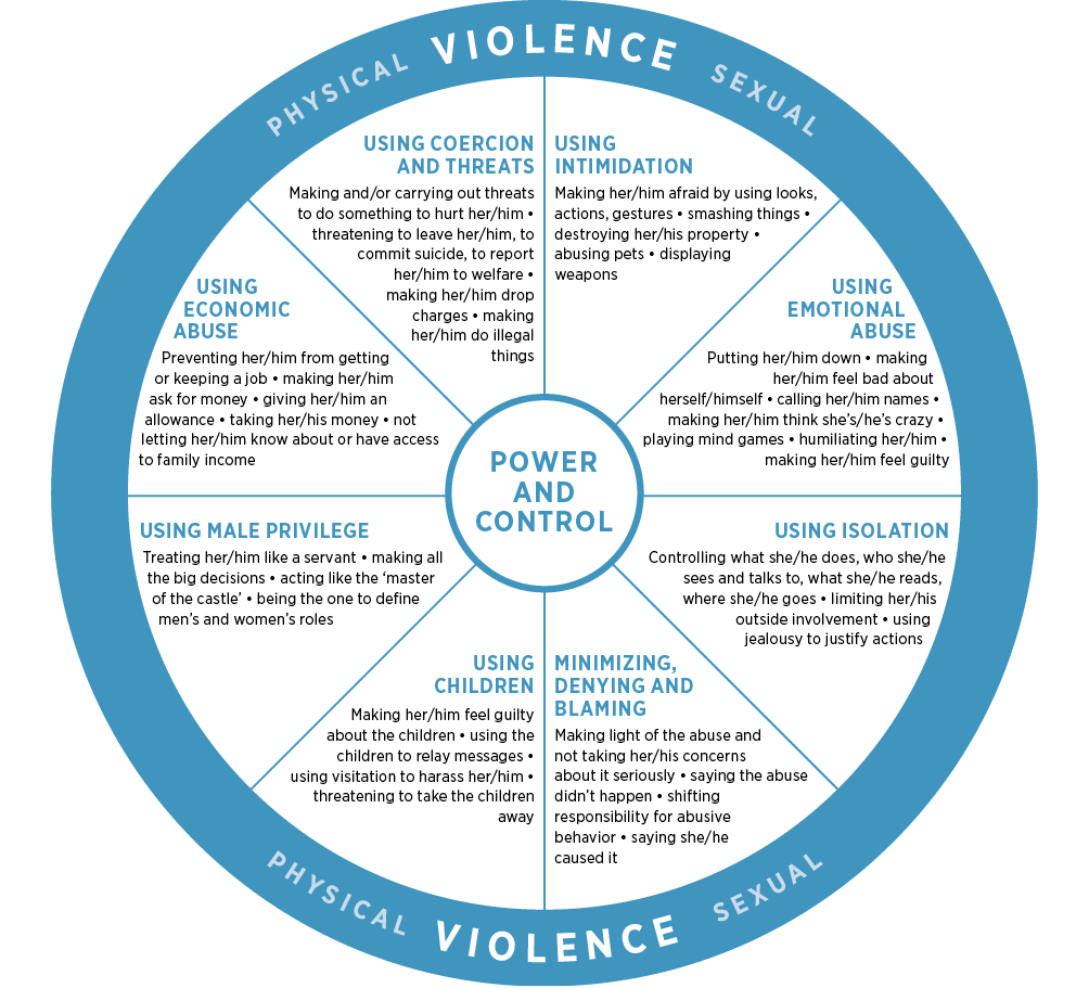 Duluth model of power and control