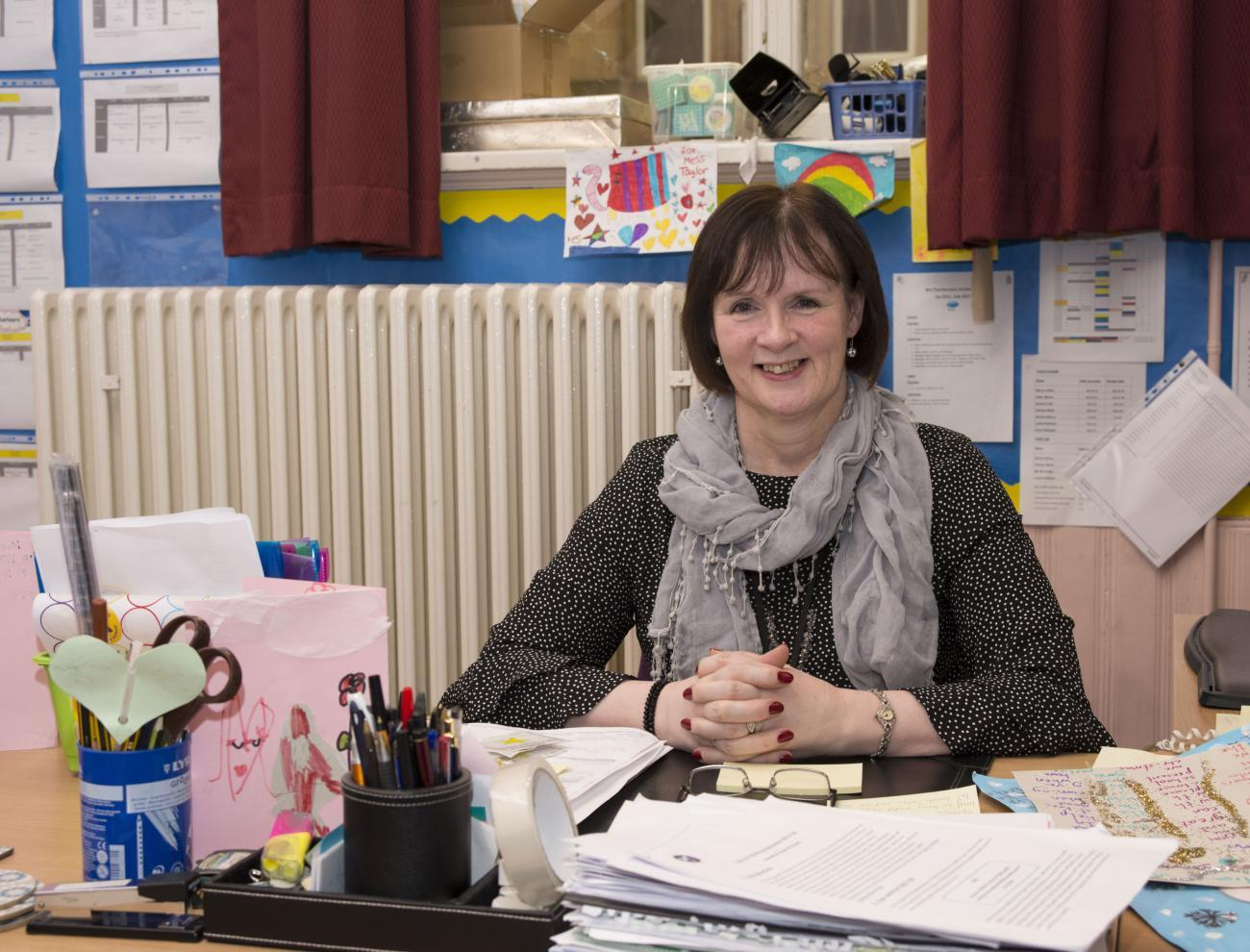 Shirley Taylor, Head Teacher, Annette St Primary School