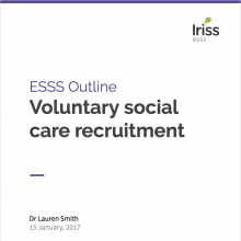 Outline thumbnail voluntary social care recruitment
