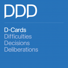 D-Cards - difficulties, decisions, deliberations