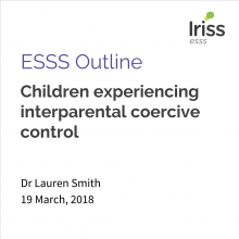 Children experiencing interparental coercive control