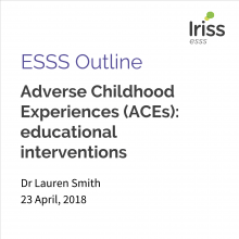 Adverse Childhood Experiences (ACEs): educational interventions