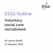 Voluntary social care recruitment