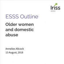 Iriss ESSS Outline Older women and domestic abuse thumbnail
