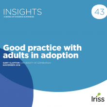 Good practice with adults in adoption