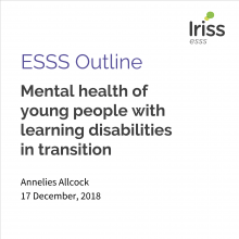 ESSS Outline: Mental health of young people with learning disabilities in transition