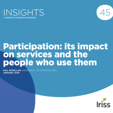Participation: its impact on services and the people who use them
