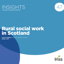 Rural social work in Scotland