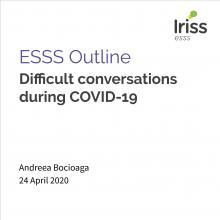 ESSS Outline Difficult Conversations Thumbnail