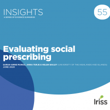 Evaluating social prescribing