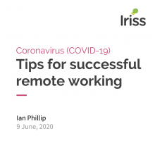 Tips for successful remote working COVID-19