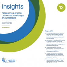 Insight 12 - Measuring personal outcomes: Challenges and strategies