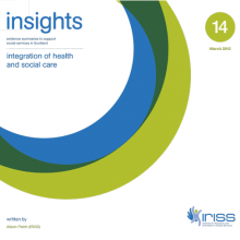 Insight 14 - Integration of health and social care