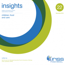 Insight 22 - Children, food and care