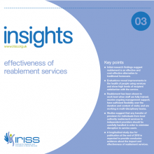 Insight 3 - Effectiveness of reablement services