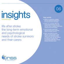 Insight 6 - Life after stroke: The long-term emotional and psychological needs of stroke survivors and their carers