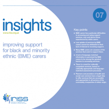 Insight 7 - Improving support for black and minority ethnic (BME) carers
