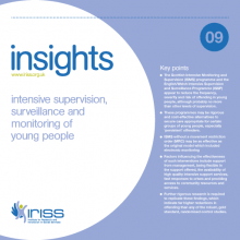 Insight 9 – Intensive supervision, surveillance and monitoring of young people