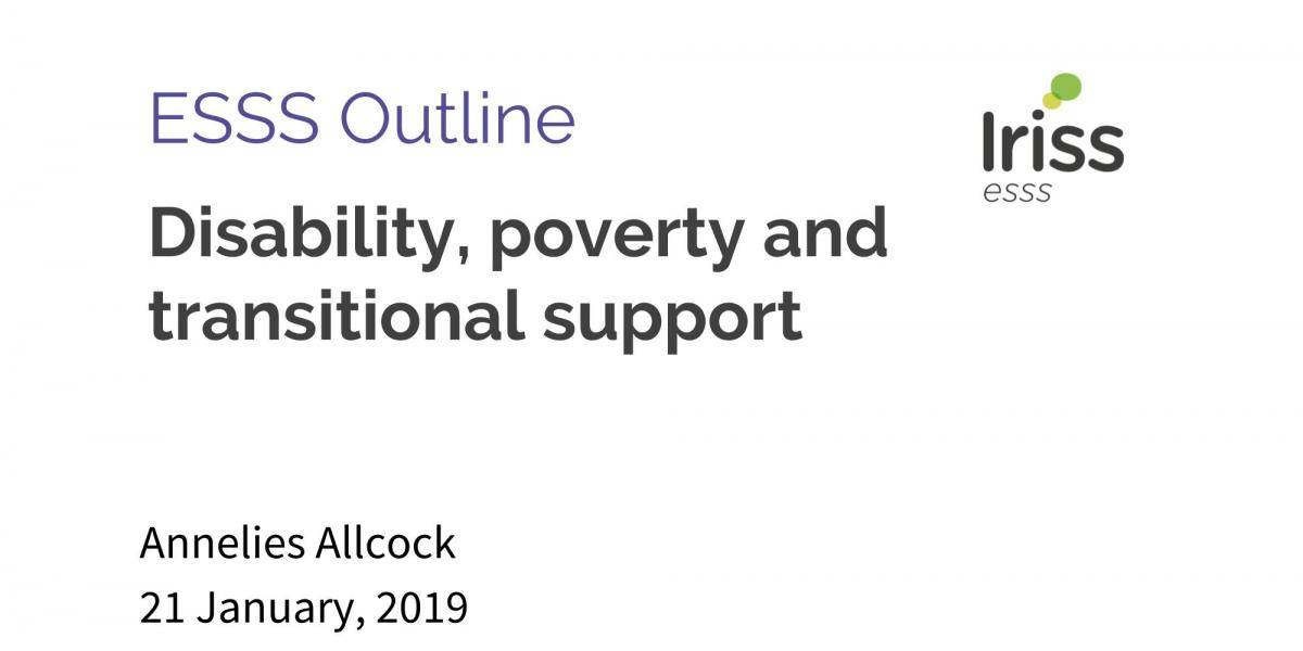 The Depths Of How Poverty Affects >> Disability Poverty And Transitional Support Iriss